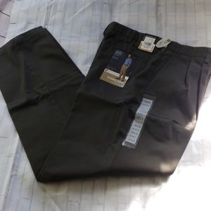 CROFT&BARROW DRESS PANT NWT 34*32 RELAXED FIT NWT